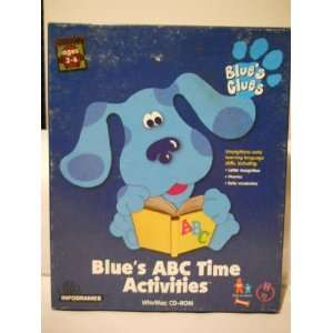 Blues Clues ABC Time Activities (Mac/Win) CD ROM
