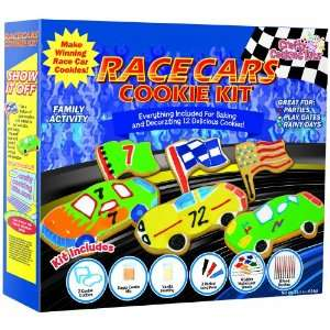 Brand Castle Crafty Cooking Race Car Cookie Deluxe Kit, 23.1 Ounce Box