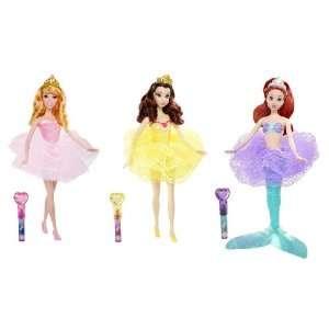 Princess Royal Bath Beauty Collection (3 Doll Set) Toys & Games