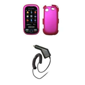 Messager Touch R630   Premium Hot Pink Rubberized Snap On Cover
