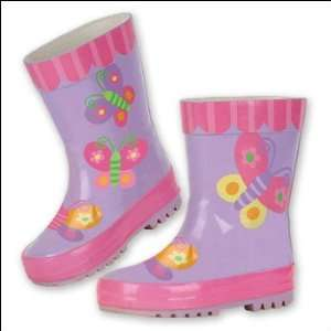 Butterfly Rain Boots by Stephen Joseph (9) Baby