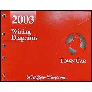 2003 Lincoln Town Car Original Wiring Diagrams Lincoln Books