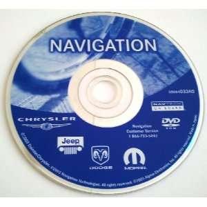 AB Dodge Chrysler Jeep OEM Navigation DVD Disc Disk GPS