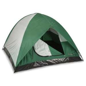 Stansport Black Granite Series McKinley 2 Pole Dome Tent (7 Feet X 7