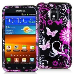 Electromaster(TM) Brand   Pink Butterfly Flowers Design