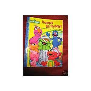 Sesame Street Jumbo Coloring & Activity Book ~ Happy Birthday