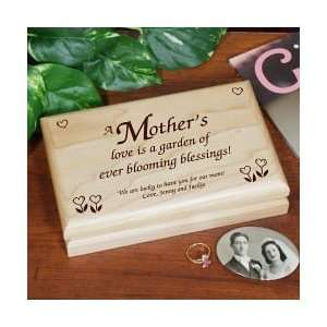 Personalized Engraved Mothers Day Valet Keepsake Box