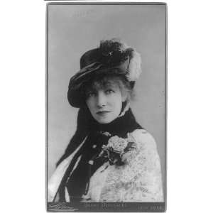 Sarah Bernhardt,1844 1923,French Early Film Actress