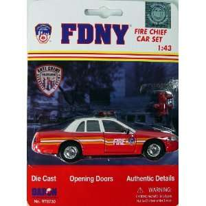 FDNY Model Car Ford Crown Victoria Diecast 1/43 Scale
