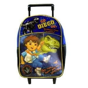 Go Diego Gp 12 backpack with rolling luggage wheels Toys