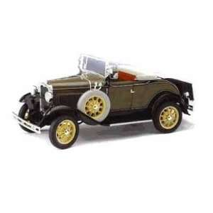 1931 Ford Model A Roadster 1/18 Brown Toys & Games