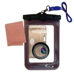 Gomadic Clean n Dry Waterproof Camera Case for the Fujifilm FinePix
