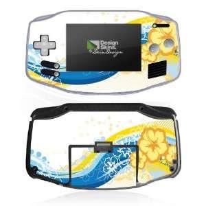 Design Skins for Nintendo Game Boy Advance   Hawaiian
