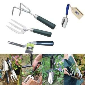 Garden Tools With Hand Cultivator/Hand Fork/Hand Weeder Included Home