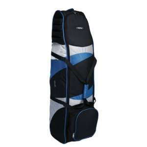 New Bag Boy T 8 Wheeled Travel Cover   Black/Royal/Silver