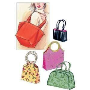 Kwik Sew Casual Handbags Pattern By The Each Arts, Crafts
