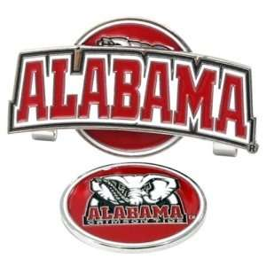 Alabama Crimson Tide NCAA Hat Clip w/ Golf Ball Marker
