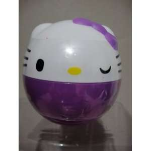 Hello Kitty Charm in Coin Capsule   Purple Toys & Games