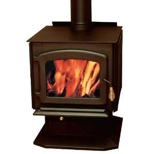 Baltic Wood Stove on Pedestal Home & Kitchen