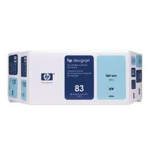 Hewlett Packard 83 Uv Value Pack Light Cyan Includes 1