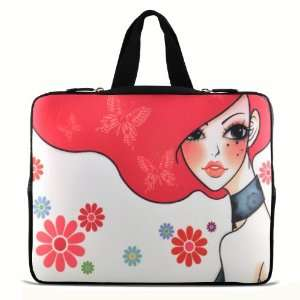 RedHaired girl 9.7 10 10.1 10.2 inch Laptop Netbook Tablet