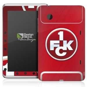 Design Skins for HTC Flyer   1. FCK Logo Design Folie