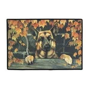 German Shepherd Dogs Indoor / Outdoor Designer Doormat