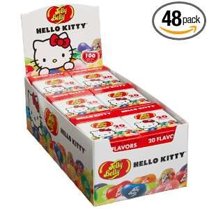 Jelly Belly Hello Kitty, 1 Ounce Boxes (Pack of 48)