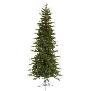 Jersey Frasier Fir Pencil 400 Multi Color Lights Christmas Tree