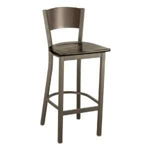KFI Seating 3315C Series Cafe Stool   Wood Seat Furniture & Decor