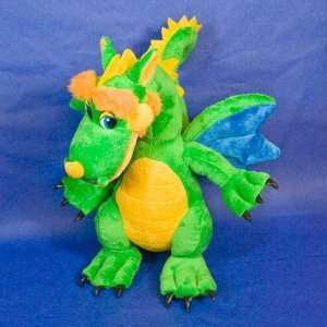 with the children, learns about the world. Dragon, like all children