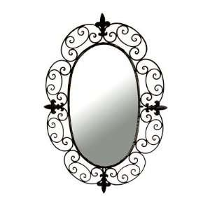 Ashton Sutton CH100197 Wall Mirror with Metal Frame