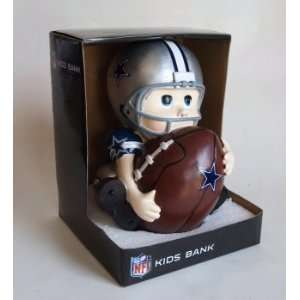 Dallas Cowboys Little Fan Football Player Coin Bank