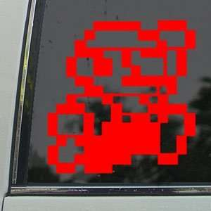 SUPER MARIO Red Decal NES LUIGI NINTENDO Window Red