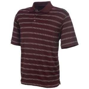 Academy Sports PGA Tour Mens Striped Golf Polo Shirt