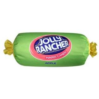 Apple Jolly Rancher   Microbead 12 Pillow