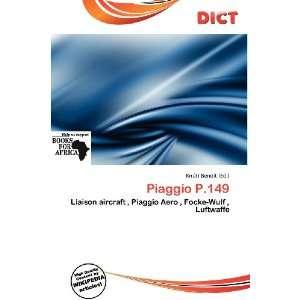 Piaggio P.149 (9786200949172): Knútr Benoit: Books
