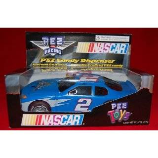 Rusty Wallace #2 Nascar Race Car Pez Dispenser with bonus Helmet Pez