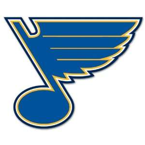 St. Louis Blues NHL Hockey car bumper sticker 5 x 4