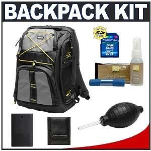 Nikon Digital SLR Camera & Laptop Backpack + 16GB SD Card