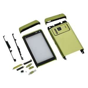 Full Housing Case for Nokia N8 Green Cell Phones & Accessories