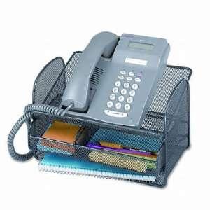 Safco Onyx Mesh Telephone Stand SAF2160BL Arts, Crafts