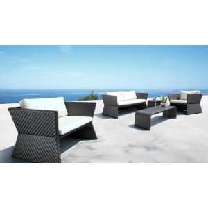 Set Sofa, 2 Chairs, Coffee Table & End Table Patio, Lawn & Garden