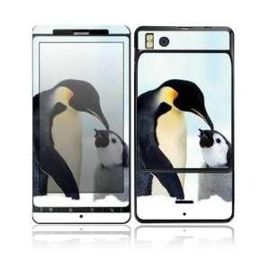 Happy Penguin Design Decorative Skin Cover Decal Sticker for Motorola