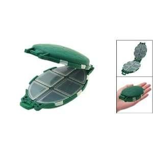 Portable Plastic Turtle Shaped Fishing Tackle Box