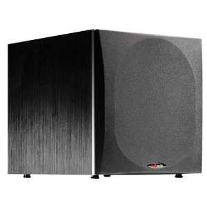 Polk Audio PSW404 10 Inch 200 Watt Powered Subwoofer (Single, Black)