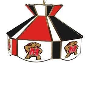 Products 7915 College Stained Glass Swag Pool Table Light   5046778