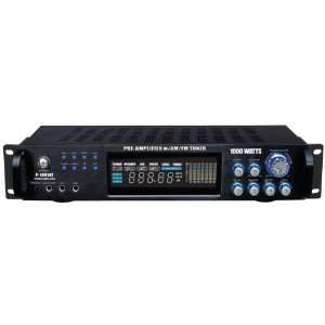 PYLE PRO P1001AT HYBRID AMPLIFIER & AM/FM TUNER (1000 WATT) by PYLE