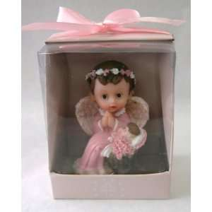 Praying to Toddler Statue Religious Gift Boxed Party Favors CR099W P