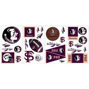 FSU Florida State University Kids Removable Wall Graphics Stickers